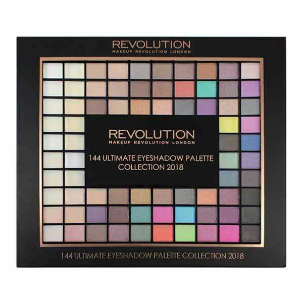 Revolution 144 Ultimate Eyeshadow Palette Collection 2018